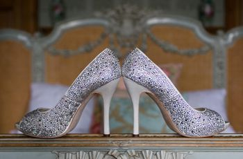 25 Dazzling Styles of Silver Wedding Shoes