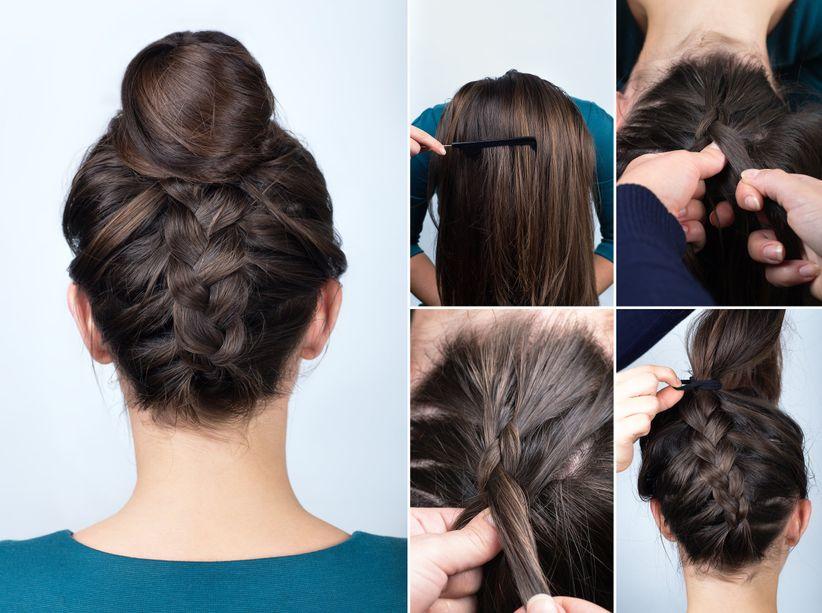 Easy Wedding Hairstyles.10 Tutorials For Easy Wedding Hairstyles