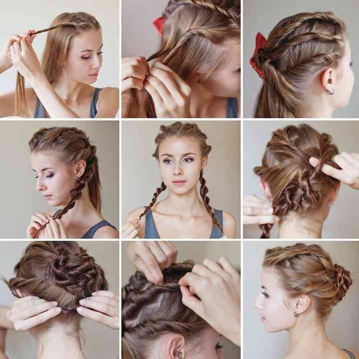 10 Tutorials For Easy Wedding Hairstyles
