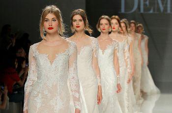 Demetrios 2018 wedding dresses: looks that reflect elegance, modernity and romanticism