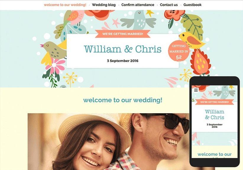 6 ways a wedding website will make planning easy
