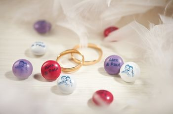 7 ideas to make your wedding super sweet with M&M's