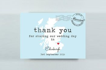 Original Wedding Thank You Cards They'll Love