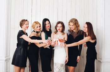 30 Black Bridesmaid Dresses and 5 Reasons to Love Them