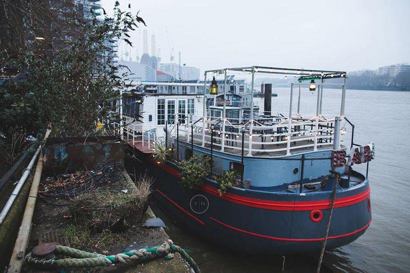 Battersea Barge / Yasmina Nadine Photo