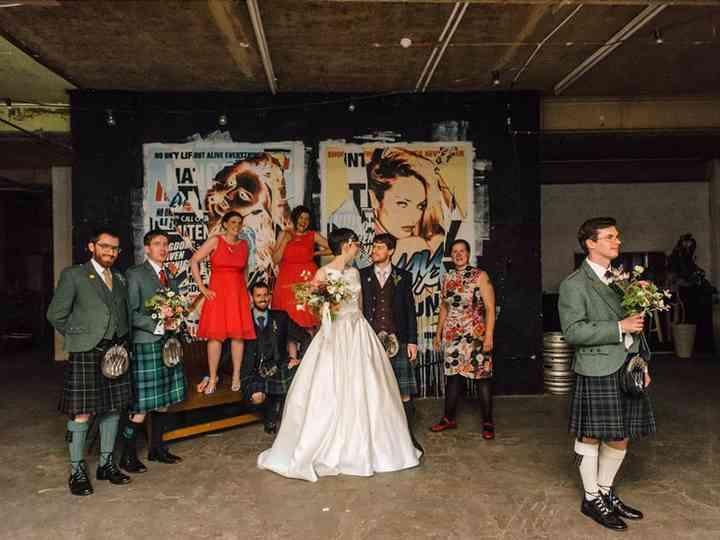 5 Industrial Chic Warehouse Wedding Venues in Edinburgh