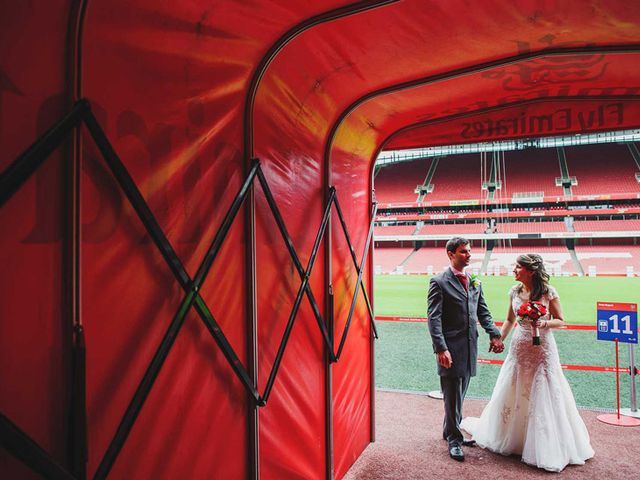 7 Epic Sporting Wedding Venues in London