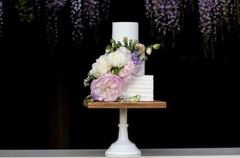 6 Floral Wedding Cake Ideas We're Totally Obsessed With