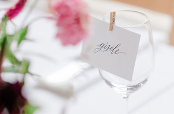 How to Make Your Wedding Place Cards
