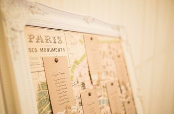 5 Tips for Choosing Your Wedding Table Names