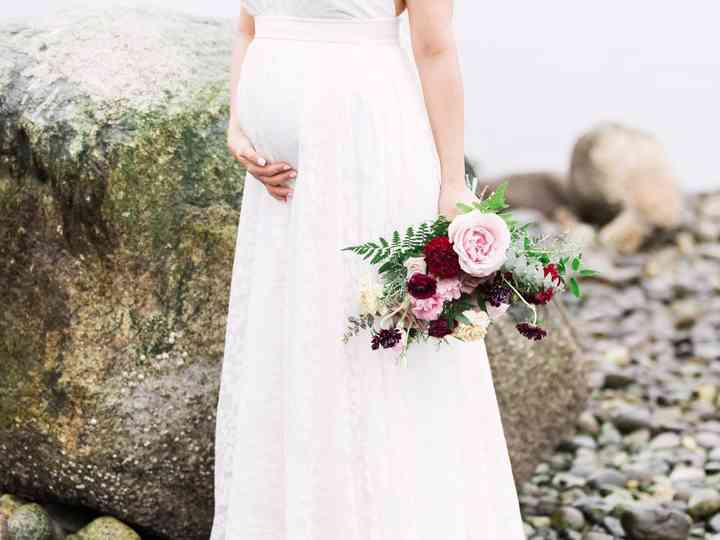 Everything You Need to Know About Shopping for Maternity Wedding Dresses