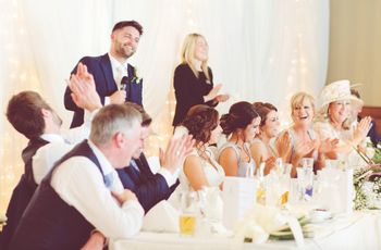 Everything about your wedding speech order