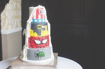 Tips for the Most Epic Marvel Wedding Cakes