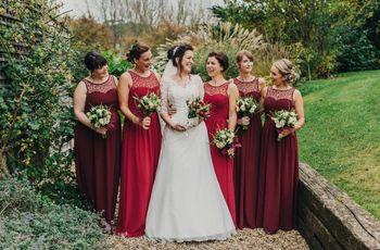 35 Flattering Red Bridesmaid Dresses