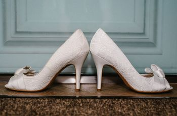 30 Lovely Lace Wedding Shoes