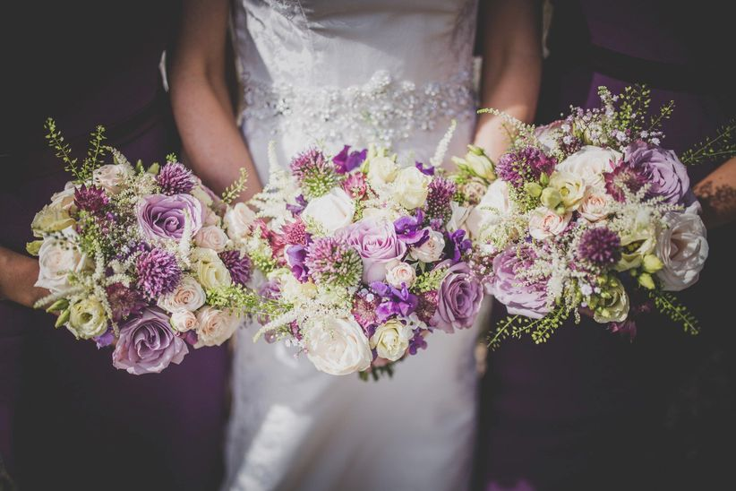 Purple Wedding Flowers Youll Fall In Love With