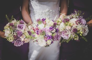 Purple Wedding Flowers You'll Fall in Love With