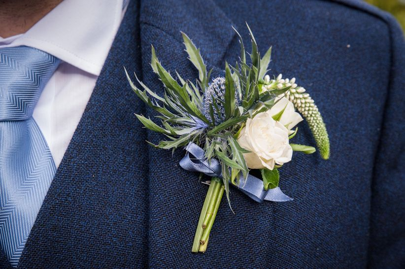 Your Guide To Wedding Buttonholes