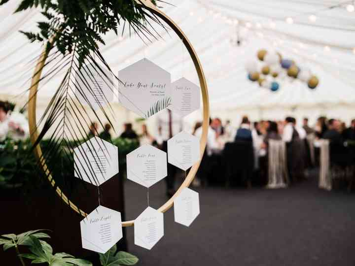 15 Creative Wedding Table Plan Ideas