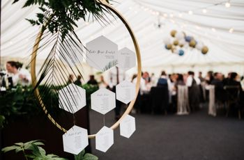 15 Creative Wedding Table Plan Ideas