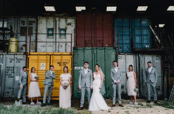 16 Steal-Worthy Warehouse Wedding Ideas