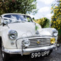 Rebecca Wood & Kippford Classic Car Hire's wedding 1