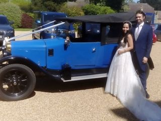 Vintage Wedding Cars Cambridge 1