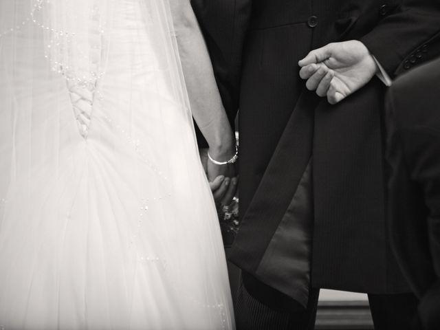 Paul and Sarah's wedding in Ruthin, Denbighshire 5