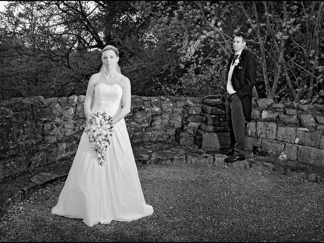 Paul and Sarah's wedding in Ruthin, Denbighshire 7