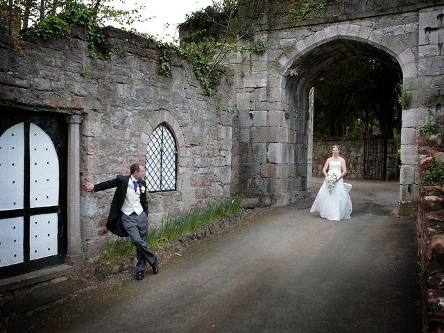 Paul and Sarah's wedding in Ruthin, Denbighshire 1