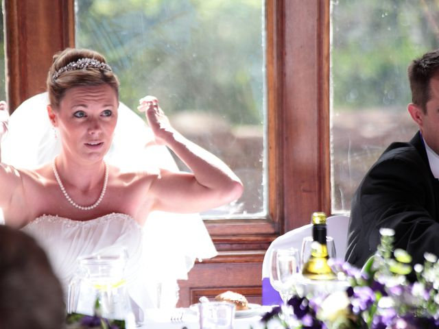Paul and Sarah's wedding in Ruthin, Denbighshire 2