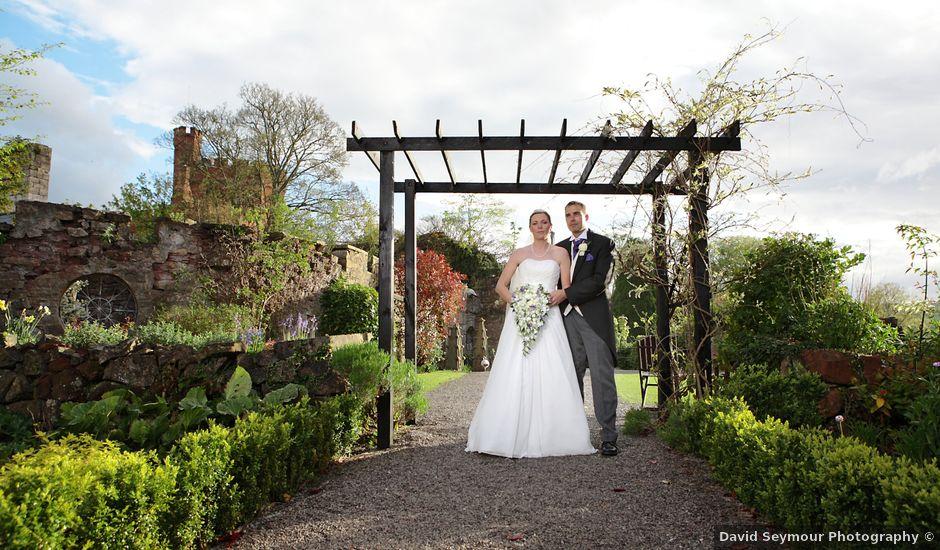 Paul and Sarah's wedding in Ruthin, Denbighshire