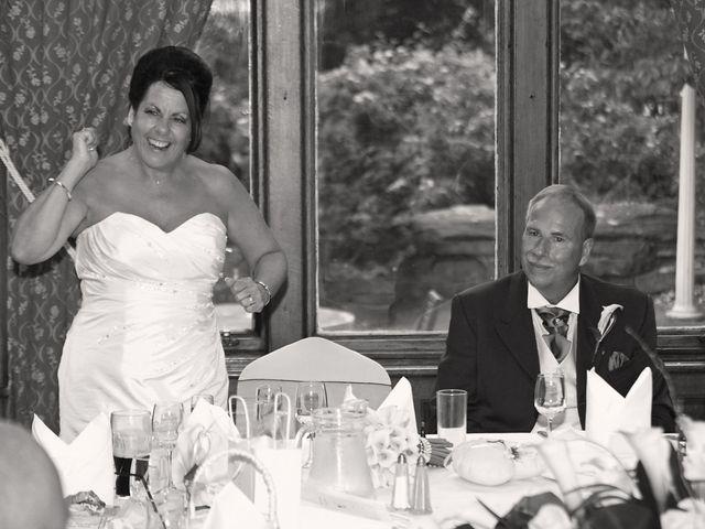 Steve and Carol's wedding in Ruthin, Denbighshire 1