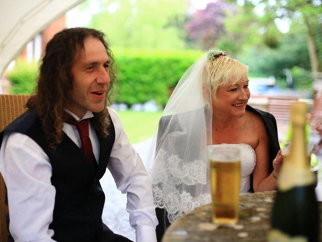 Ian and Vanessa's wedding in Ruthin, Denbighshire 3