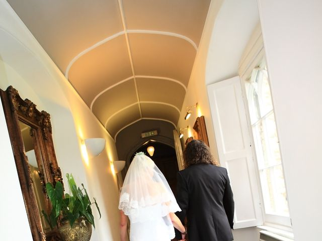 Ian and Vanessa's wedding in Ruthin, Denbighshire 1
