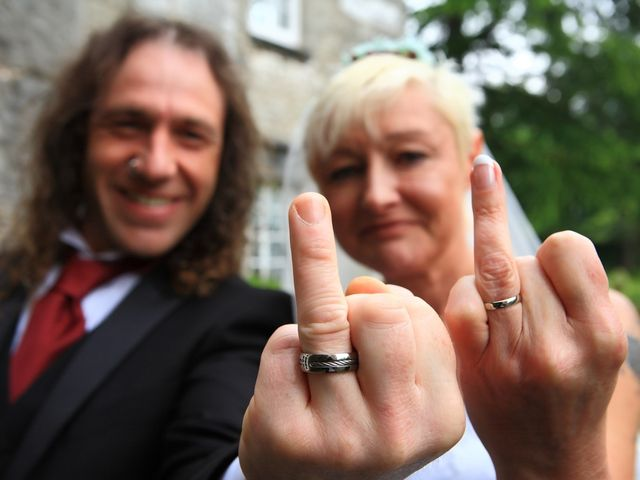 Ian and Vanessa's wedding in Ruthin, Denbighshire 4