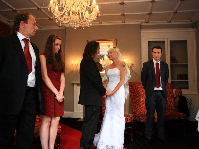 Ian and Vanessa's wedding in Ruthin, Denbighshire 6