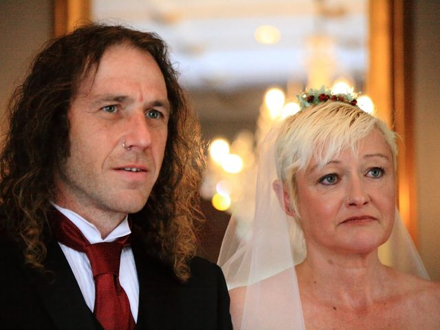 Ian and Vanessa's wedding in Ruthin, Denbighshire 7