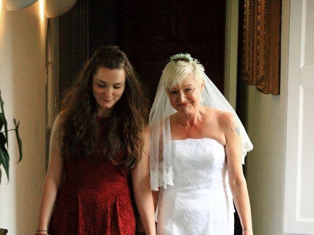 Ian and Vanessa's wedding in Ruthin, Denbighshire 2