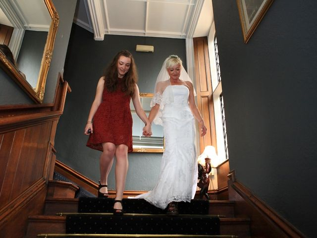 Ian and Vanessa's wedding in Ruthin, Denbighshire 8
