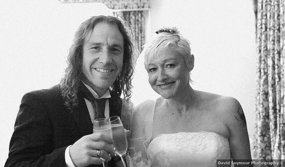 Ian and Vanessa's wedding in Ruthin, Denbighshire