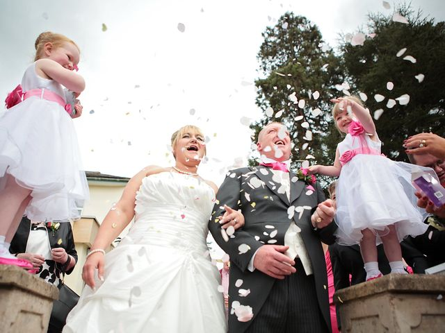 Ian and Becky's wedding in St Asaph, Denbighshire 2