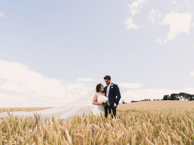 Aaron and Megan's wedding in Ballynahinch, Down 1