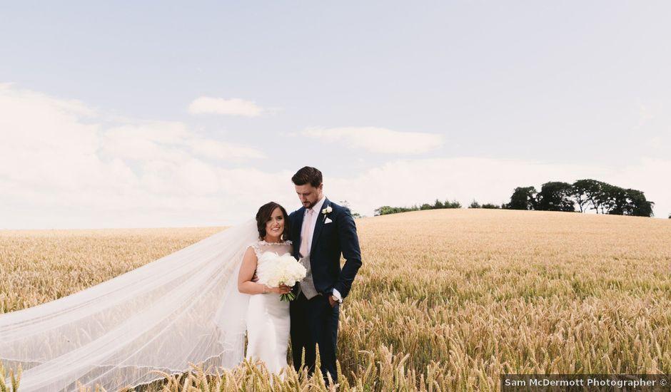 Aaron and Megan's wedding in Ballynahinch, Down