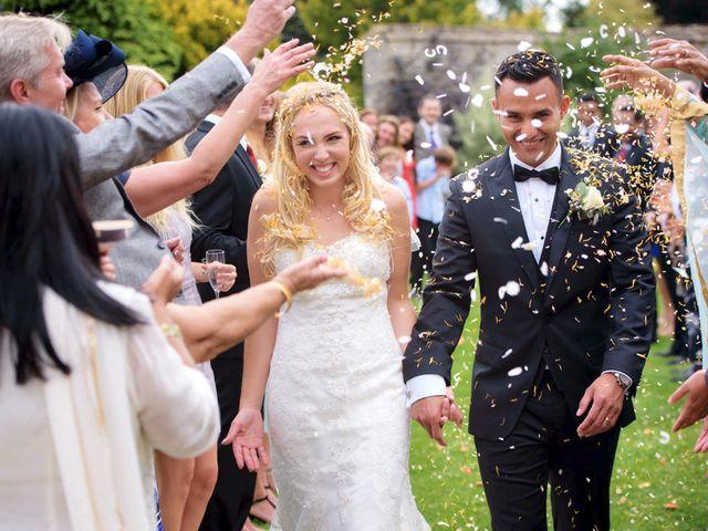 Elise & Rajiv's wedding
