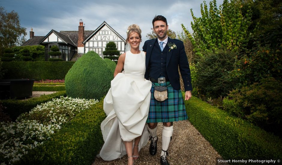 Jonathan and Emily's wedding in Knutsford, Cheshire