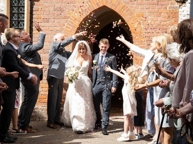 Elise and Charlie's wedding in Newbury, Berkshire 2