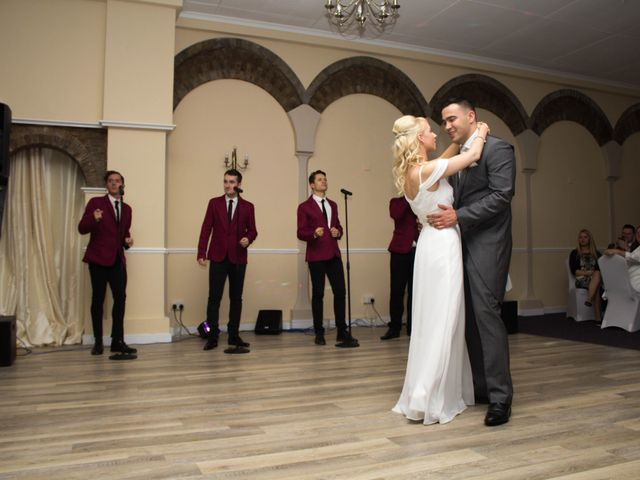 Jean-Pascal and Leanne's wedding in Letchworth Garden City, Hertfordshire 10