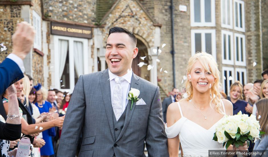 Jean-Pascal and Leanne's wedding in Letchworth Garden City, Hertfordshire
