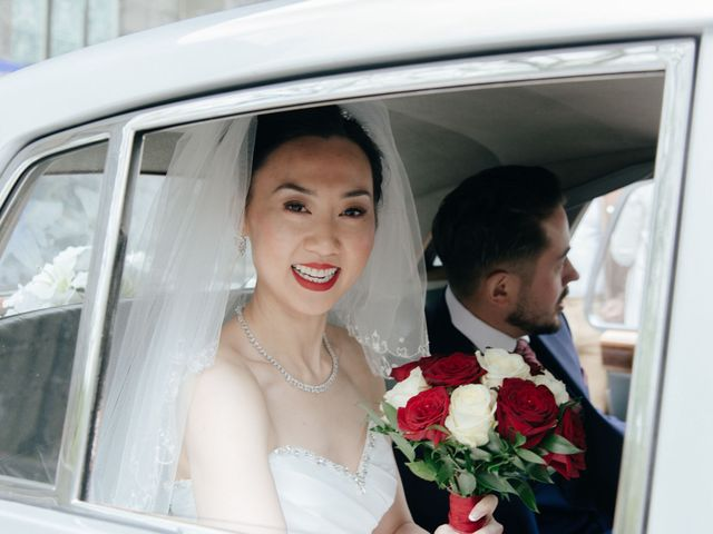Mike and Jessica's wedding in Manchester, Greater Manchester 1